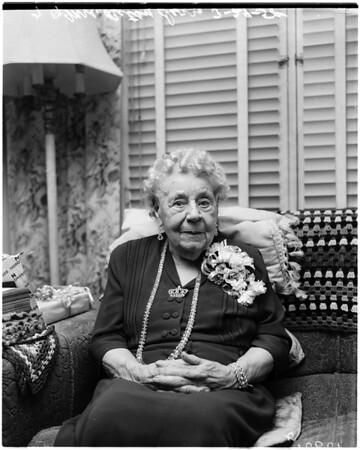 100th birthday, 1958