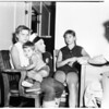 Lost Hill kids at Burbank Police Station, 1958