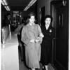 Cheryl Crane (appears in court), 1958
