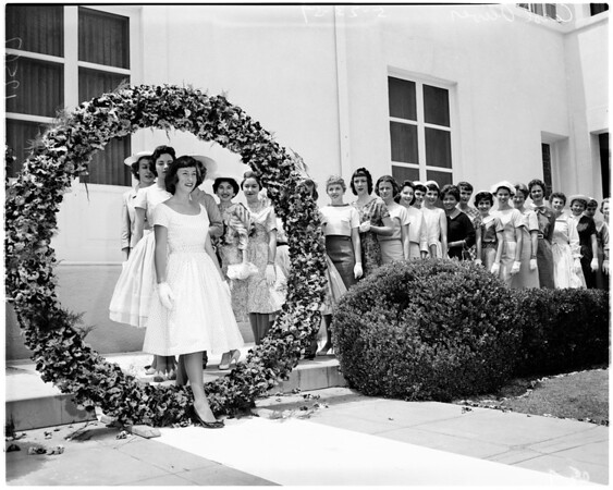 University of Southern California pansy ring, 1959