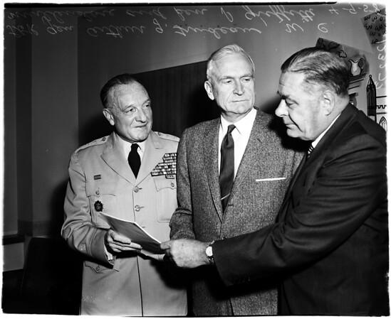 General Trudeau, 1958