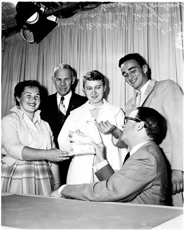 Invest in America contest winners, 1958