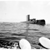 """USS """"Nautilus"""", general view of the sub, 1958"""