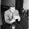 Road gas tax hearing, 1958.