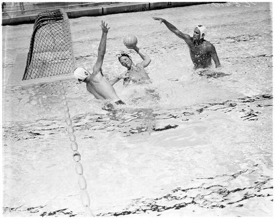 Water Polo -- El Segundo versus Whittier, 1958