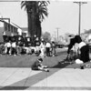 University of Southern California homecoming decorations, 1955