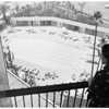 Beverly Hilton Hotel preview, 1955