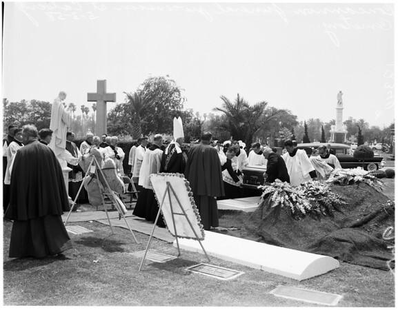 Funeral of Father Patrick J. Concannon, 1958