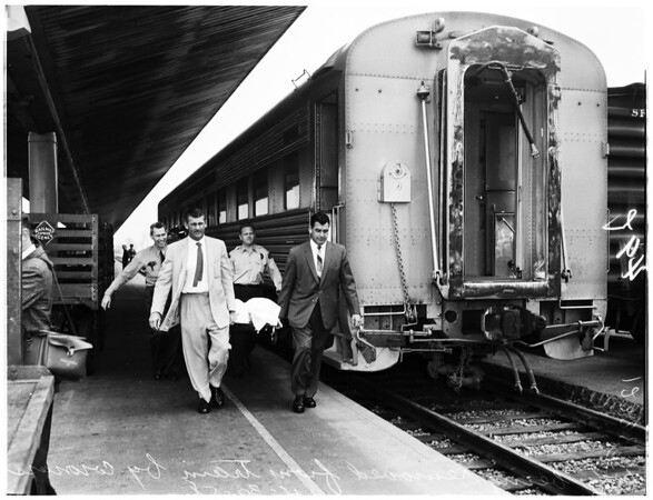 Suicide on super chief, 1958