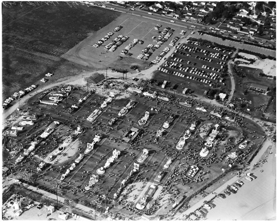 Post parade air photos by Sansone, 1956
