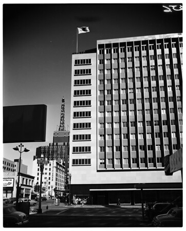 Annual -- scenes of downtown Los Angeles, buildings, etc. 1951-1953