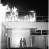 Fire at 700 block on Turner street, 1958