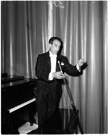 Greek theater opening, 1956