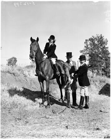 West Hills Hunt club, 1958