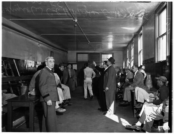 Weingart tour -- Skid row, 1955