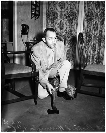 Hatchet murder, 1958