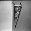 University of Southern California and Notre Dame banners, 1960