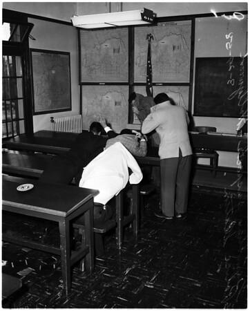 Police raid on Hollywood party, 1958