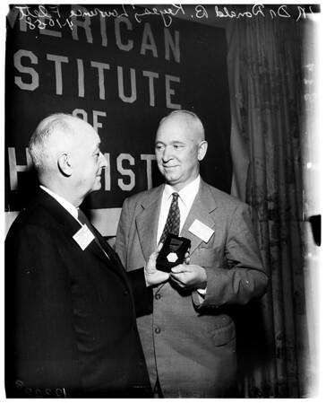 Chemists convention, 1958