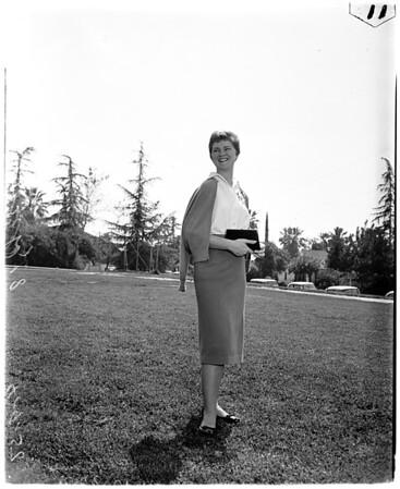 Best dressed college girl, 1958