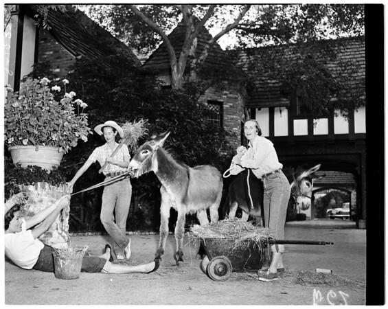 Philharmonic girls, 1958