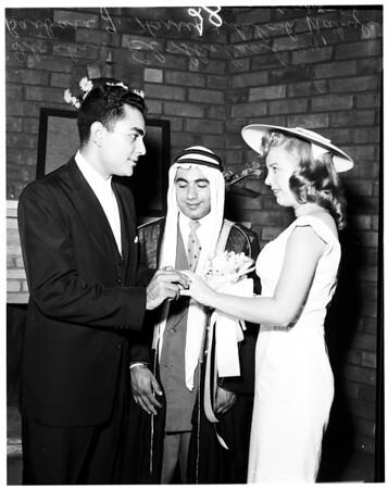 Moslem wedding, 1958