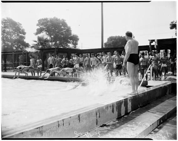 Lifeguard demonstration feature, 1958