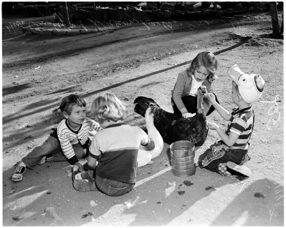 Griffith Park Zoo, 1956