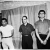 Narcotics raid (marijuana taken in raid at 2236 Laurel Canyon), 1958