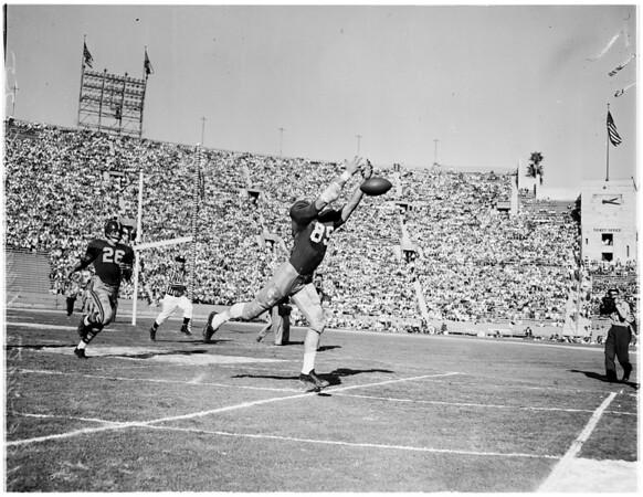 University of Southern California vs Notre Dame, 1955