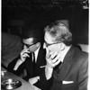 Stompanato murder (lies in state), 1958