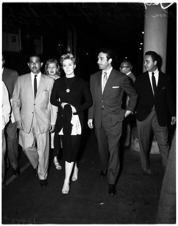 Trujillo Junior departure, 1958.