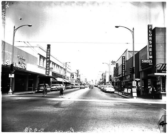 Pomona seventieth anniversary, 1958