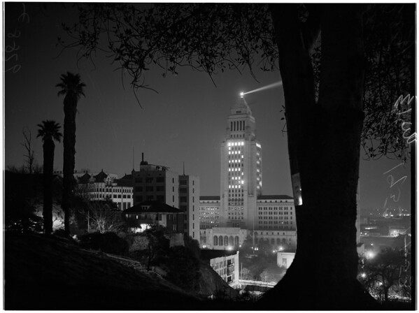 Los Angeles City Hall, 1953