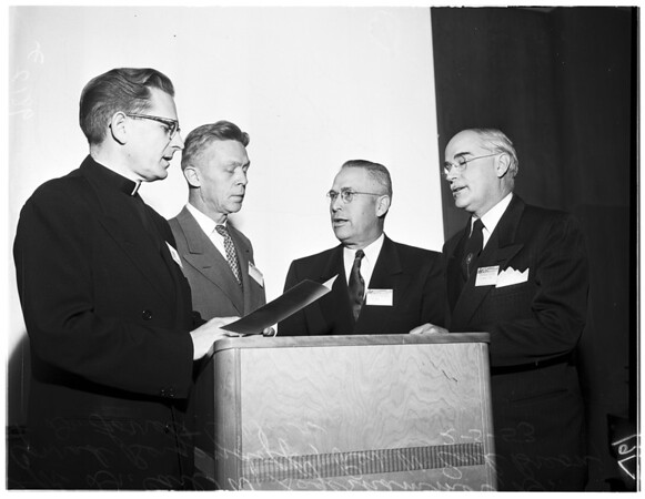 Ministers convocation at University of Southern California, 1953