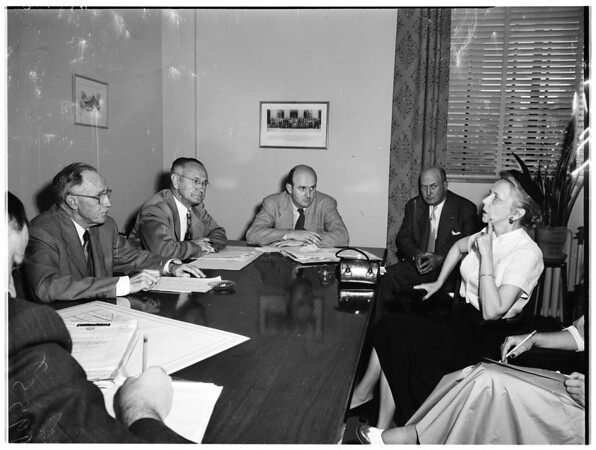 Twelfth Council District (candidates to take Davenport's place), 1953