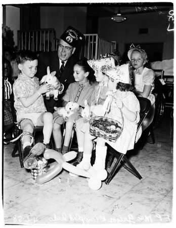 Easter at Shriners Hospital, 1958