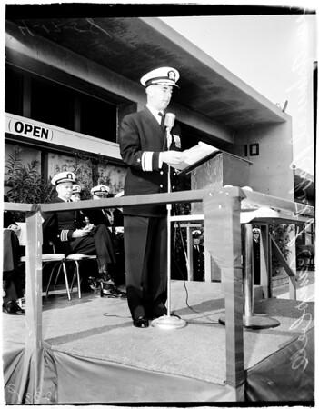 Change of command, 1958