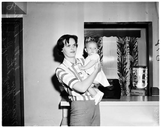 Dennis Crosby story (baby), 1958