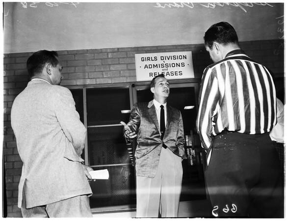 Stephen Crane (at juvenile hall), 1958