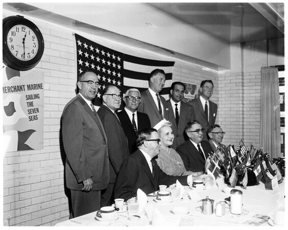 1958 World Trade Week committee, 1958.