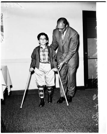 Cerebral palsy, 1958