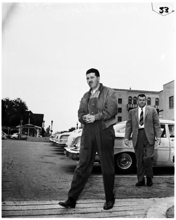 Assault case, 1958