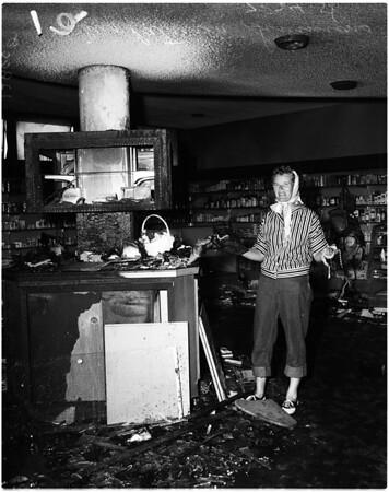 Malibu suicide attempt, 1958