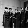 University of Southern California graduation, 1958