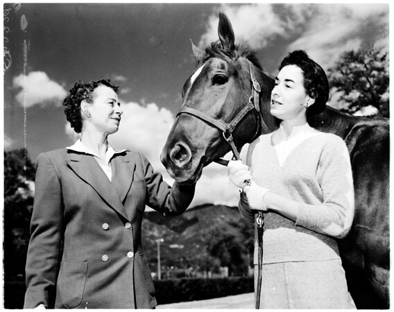 Flintridge Riding Club Guild horse show, 1958
