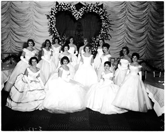 Cameo ball of cheerful helpers, 1958