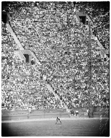 Baseball -- Dodgers versus Pittsburgh, 1958