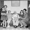 Nixon at home, 1955