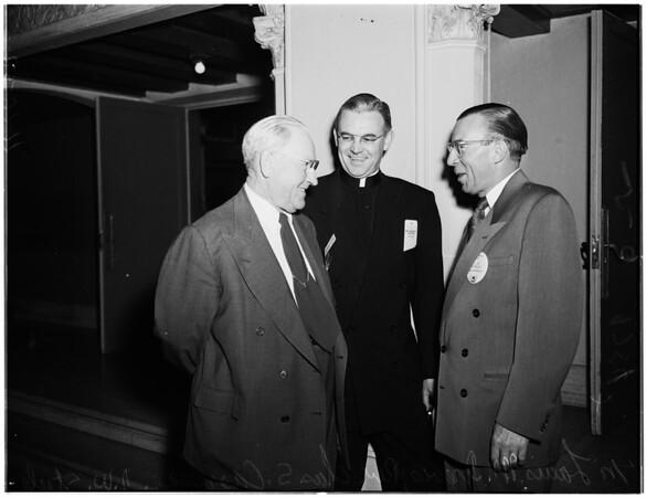 General Motors club meeting, 1952